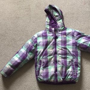North face down jacket kids